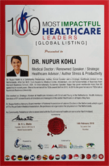 100 Most Impactful Healthcare Leaders Accolade